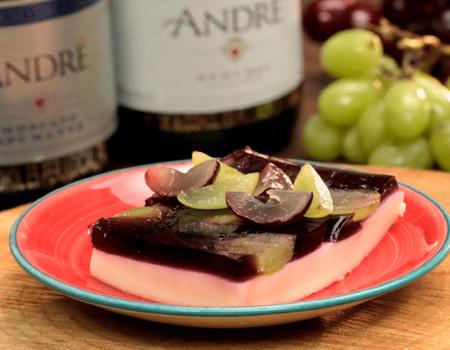 Esponjado de Uva con Vino