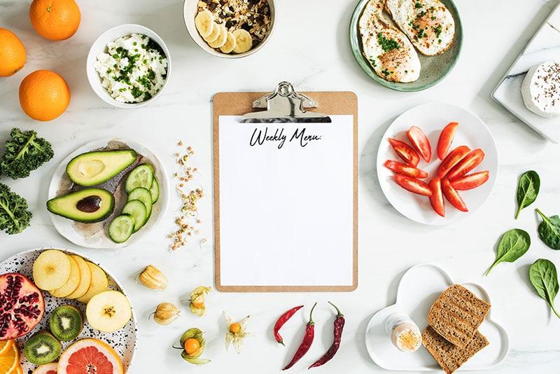 Organiza tu alimentación: crea una rutina saludable