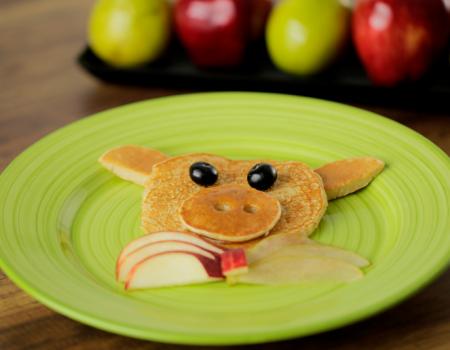 pancakes-de-pera-y-manzana