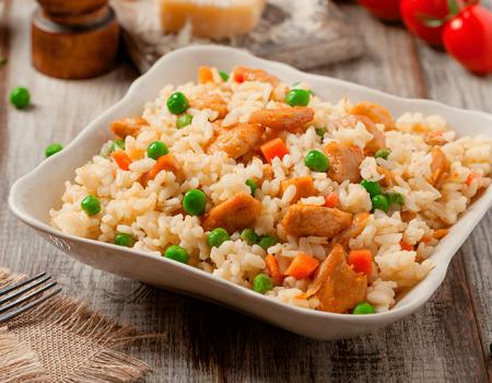 El arroz está en todo