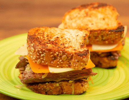 Sandwich de carne americana