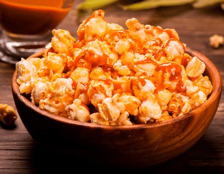 Palomitas de maíz caramelizadas