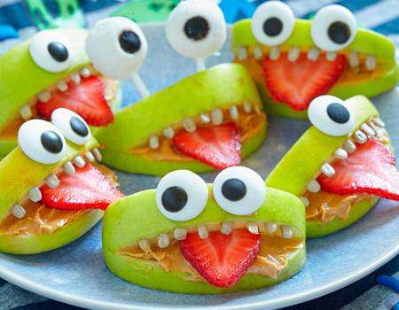 Anímate a preparar unas divertidas y deliciosas manzanas muelonas para Halloween