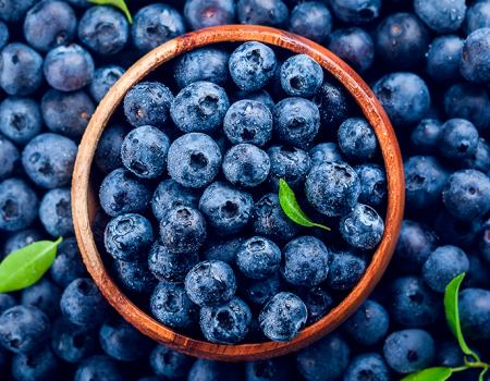 Anímate a vivir una rica y saludable experiencia con blueberry americano