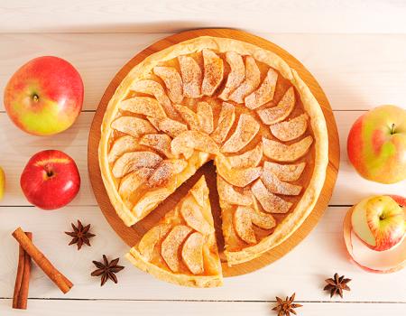 Comparte la tradición americana con un delicioso pastel de manzana
