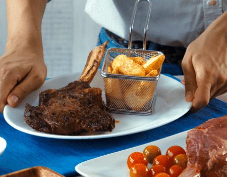 Deléitate con un buen corte de carne