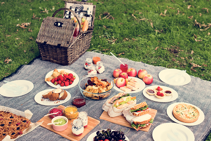 Disfruta de un picnic con todo el SaborUSA