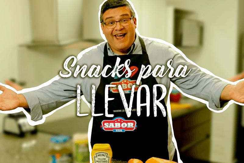 Disfruta un delicioso snack fácil de llevar a cualquier lugar