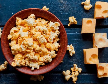 Palomitas de maíz, una galguería saludable