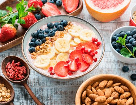 Planea tus refrigerios y balancea tus comidas saludablemente