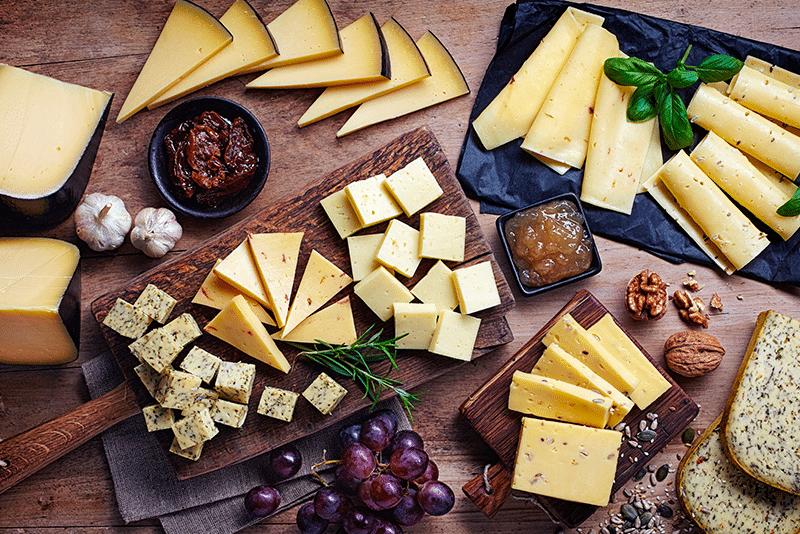 Salón del queso con el toque americano