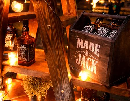 Siente la magia del whiskey Jack Daniels