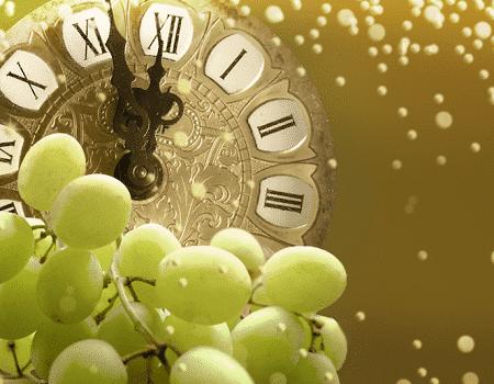 Tradición de las 12 uvas en Nochevieja