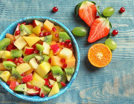 cómo mezclar frutas