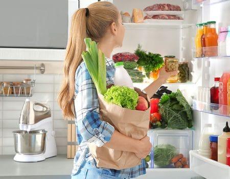 Aprende a conservar tus alimentos en la nevera