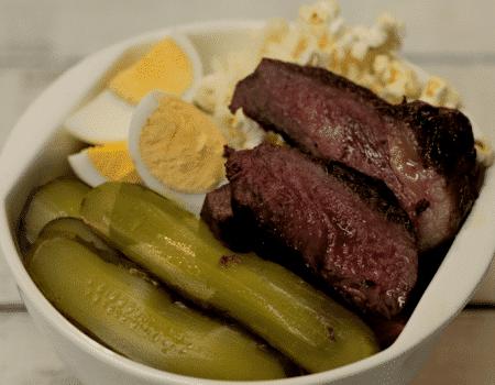 bowl de legumbres